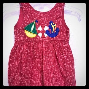 Other - Adorable little girls polka dot dress.